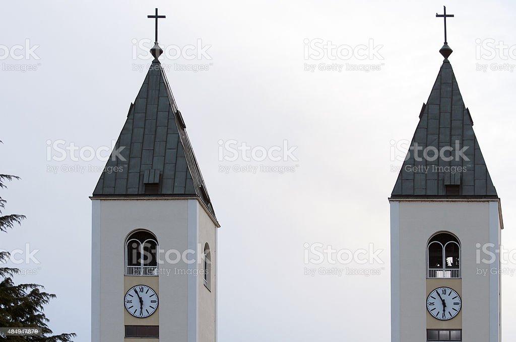 Eglise St-Jacques stock photo