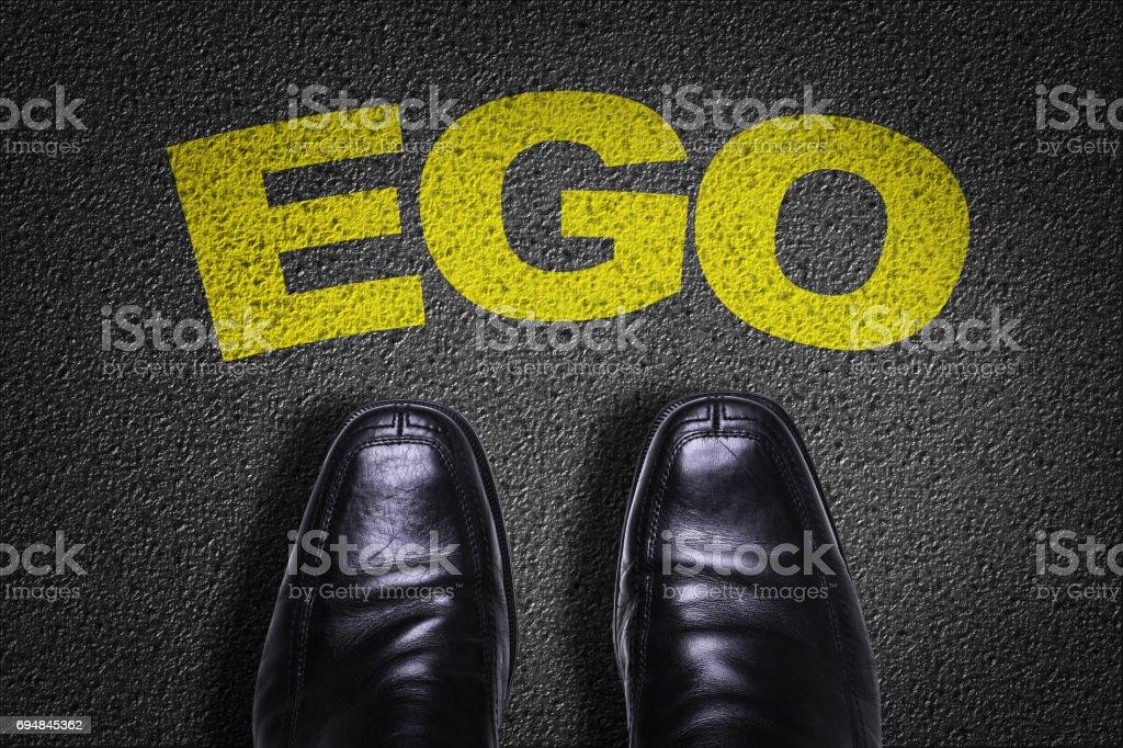 Ego stock photo