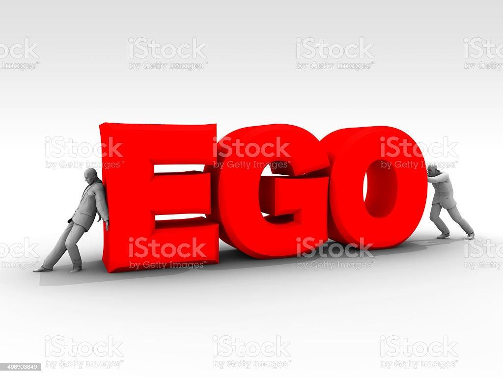 Ego Wars stock photo