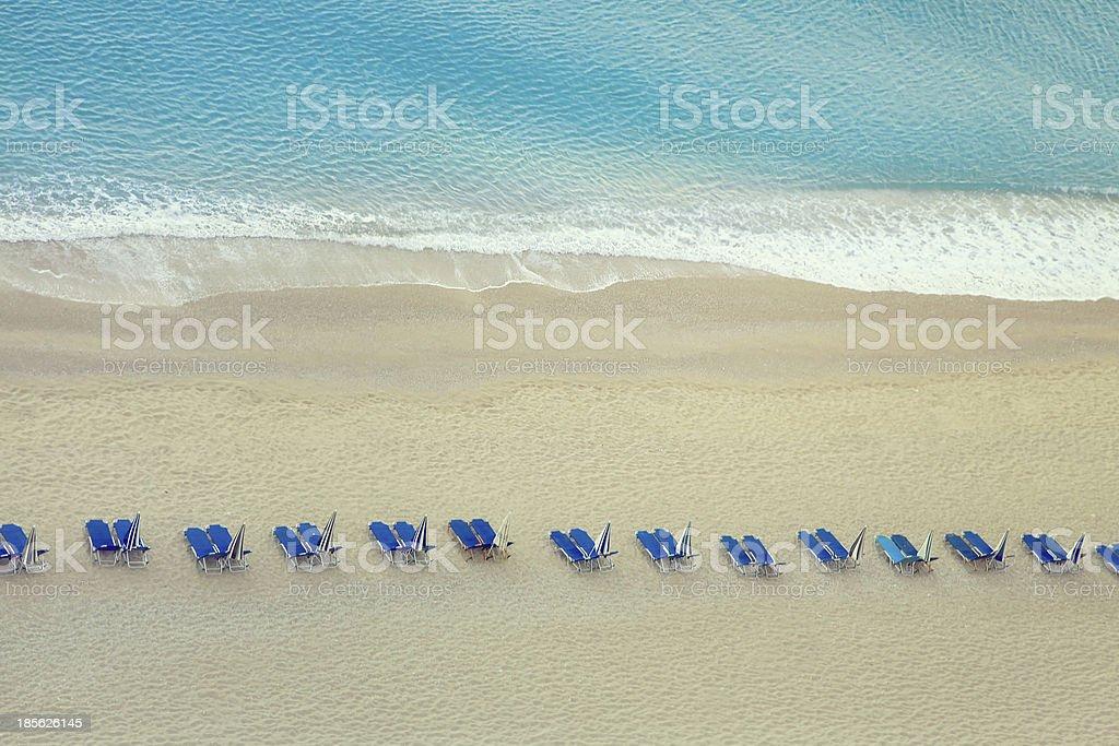 Egremni beach Lefkada - Greece stock photo
