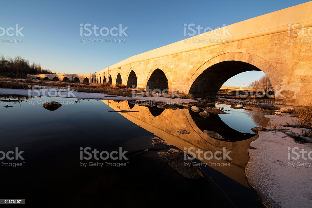 Egri Bridge stock photo