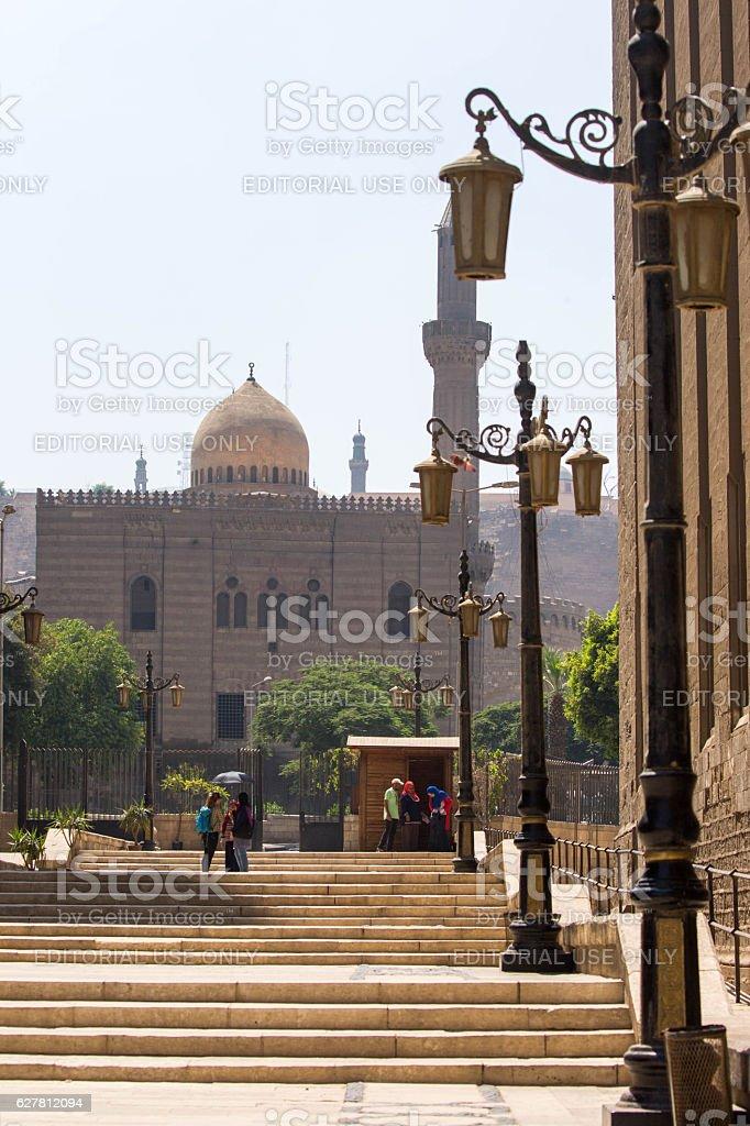 Egypt: Al Mahmoudiya Mosque in Cairo stock photo