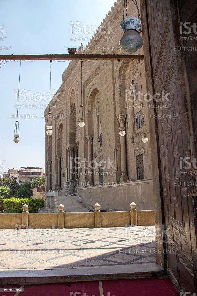 Egypt: Al-Rifa'i Mosque in Cairo stock photo