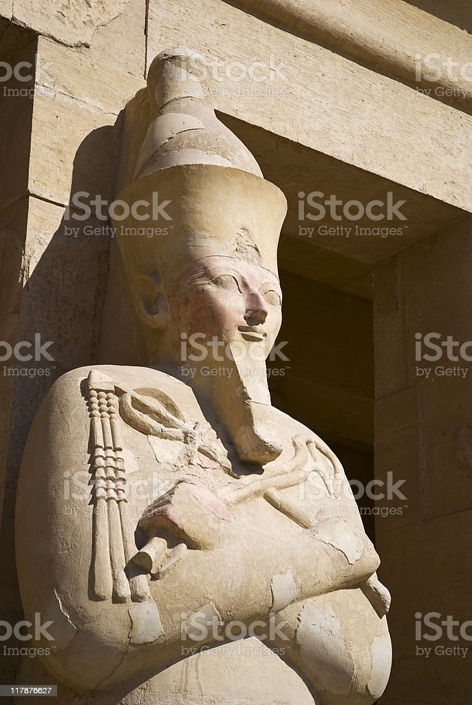 Egypt, ancient temple royalty-free stock photo