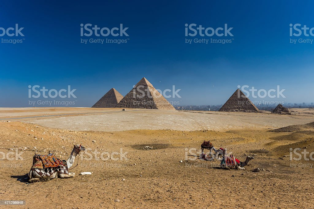 Egypt. Cairo - Giza. stock photo