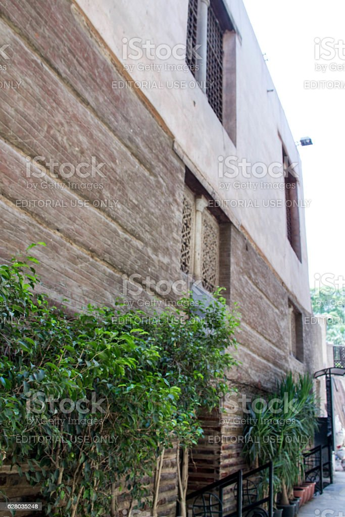 Egypt: Coptic Cairo stock photo