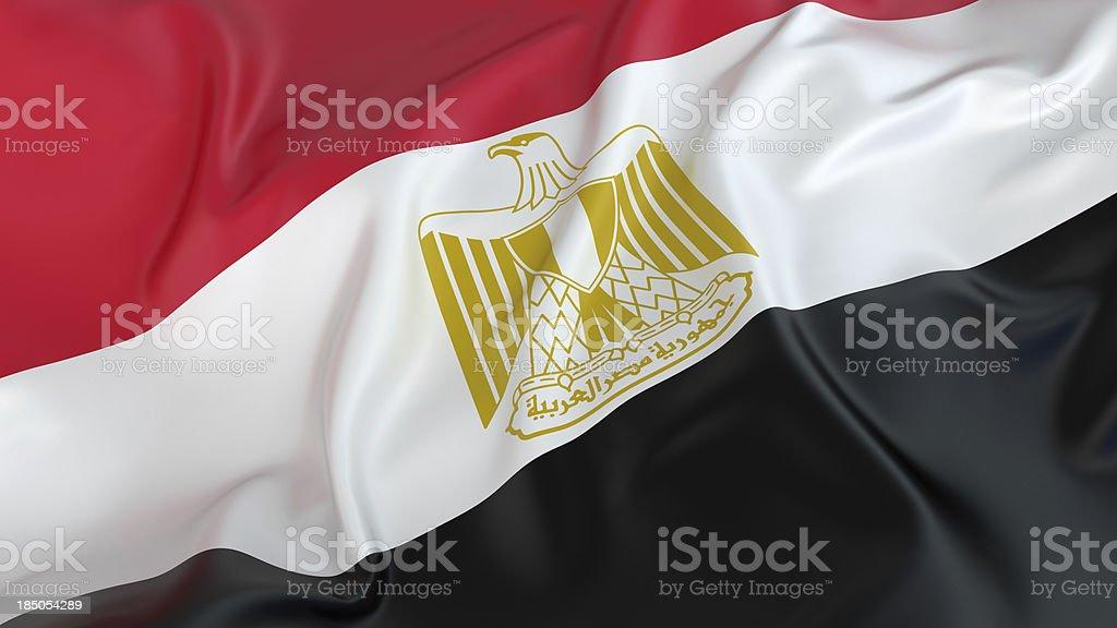 Egypt Flag stock photo