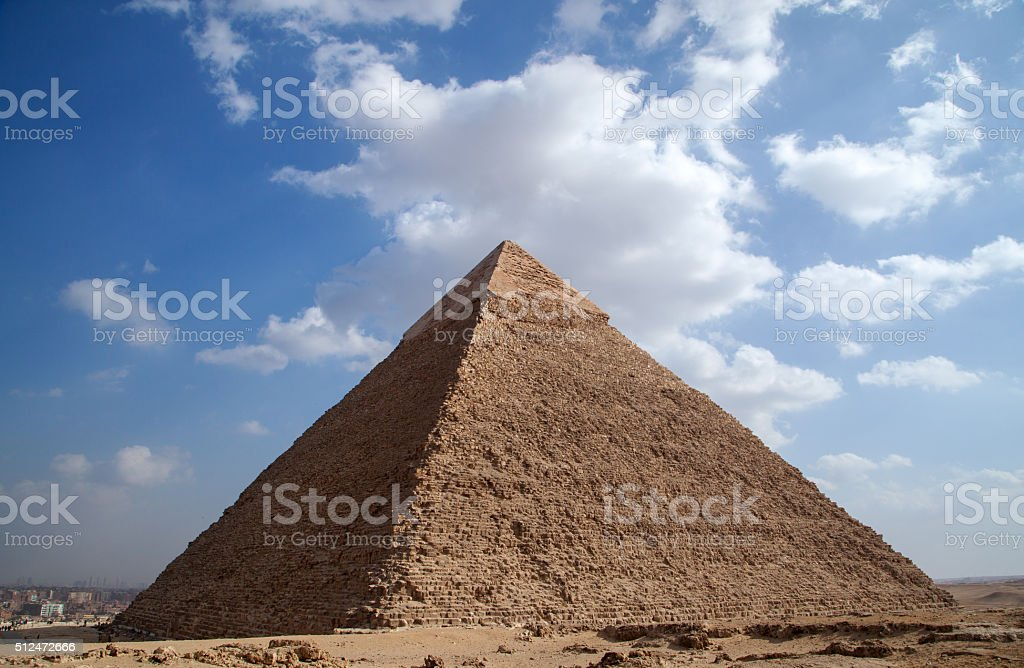 Egypt Giza Pyramid stock photo