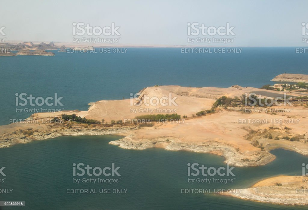 Egypt: Great Temple of Rameses II at Abu Simbel stock photo