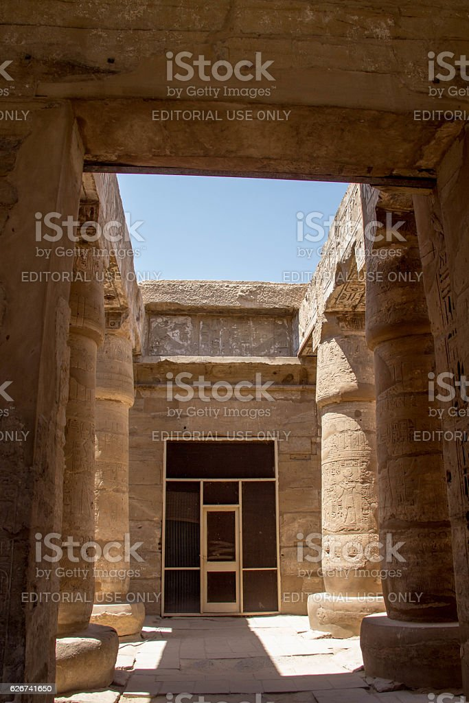 Egypt: Karnak Temple Complex stock photo
