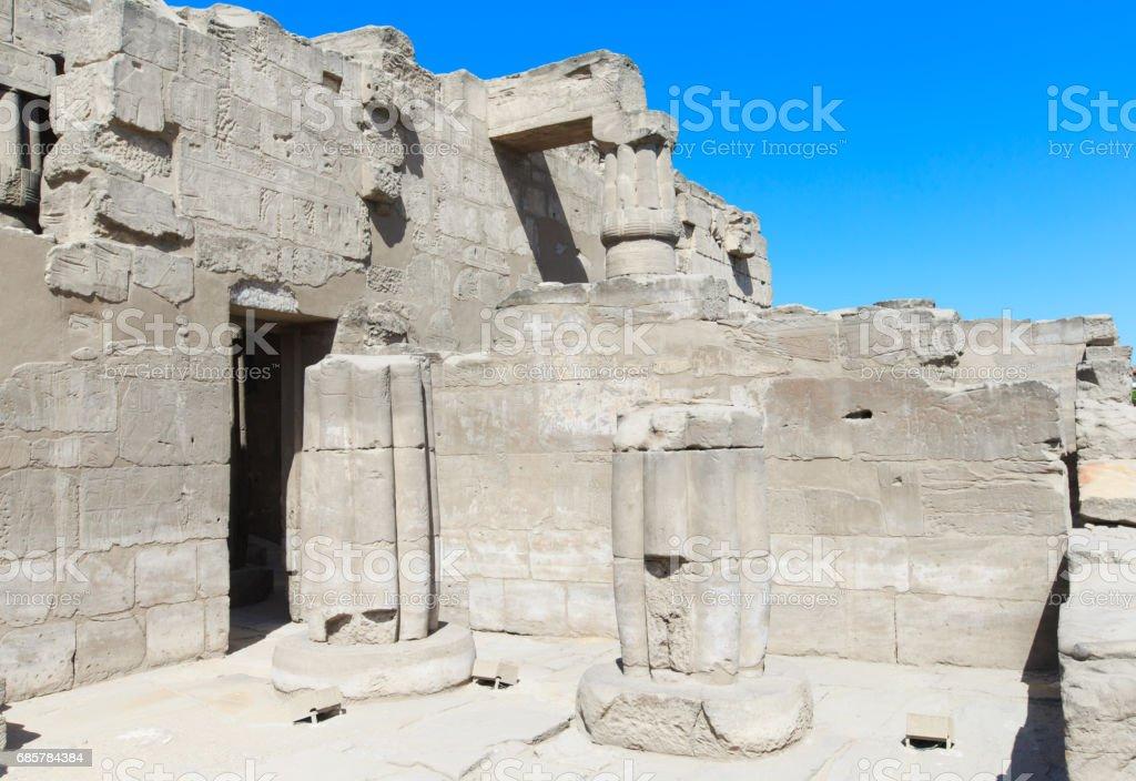 Egypt, Luxor, Karnak temple stock photo