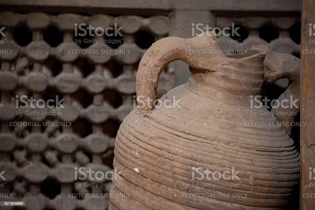 Egypt: Monastery of Saint Bishoy stock photo