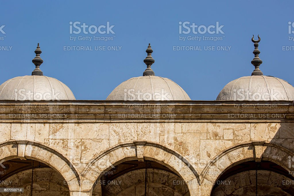 Egypt: Mosque of Muhammad Ali in Cairo stock photo