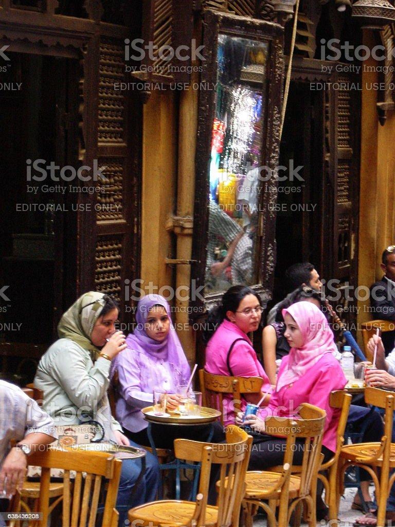 Egypt – Old_Cairo, El-Fishawy. The legend of Khan el Khalili... stock photo