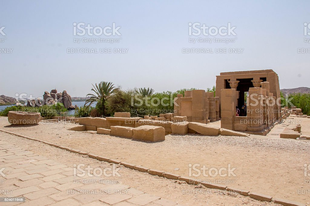 Egypt: Philae Temple stock photo