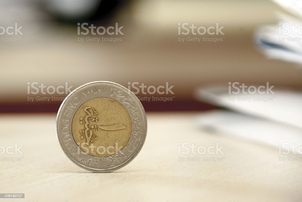 egypt pound stock photo