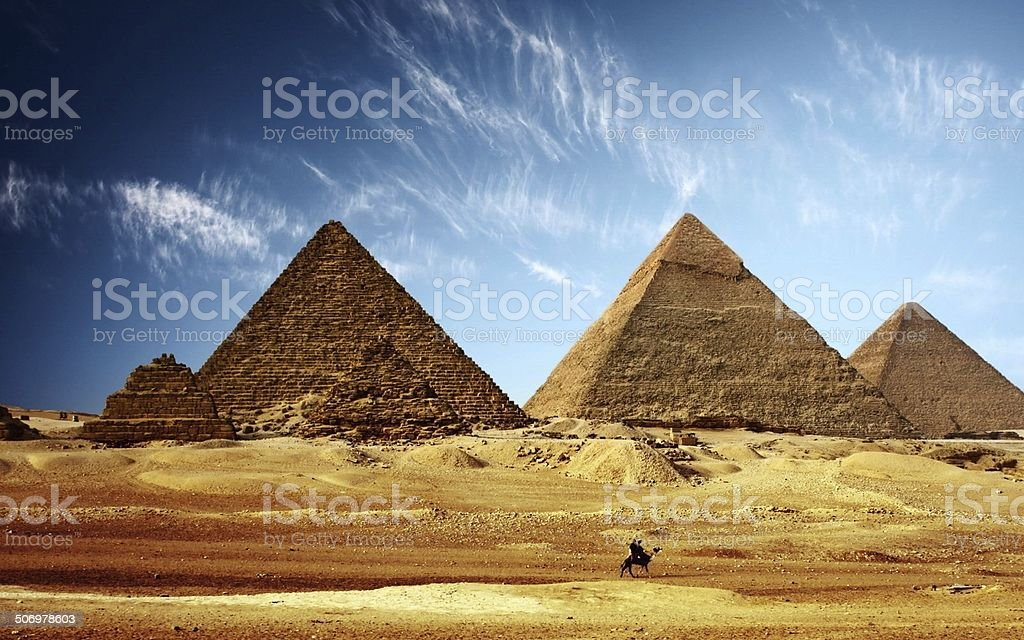 egypte pyramide gizeh stock photo