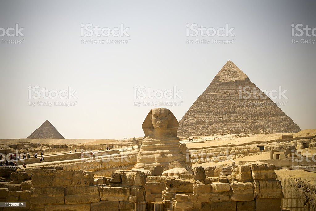 Egypt Pyramids royalty-free stock photo