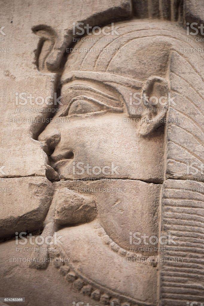 Egypt: Temple of Kom Ombo stock photo