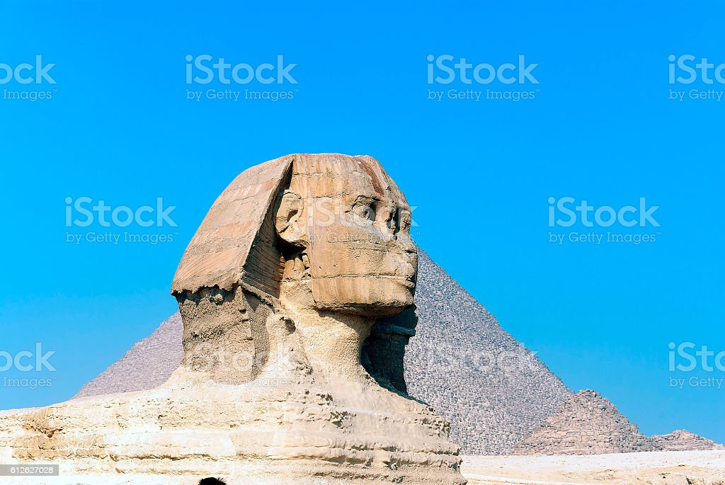 Egypt travel  archaeological ruins in Egypt stock photo