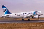 EgyptAir A320 Taking Off
