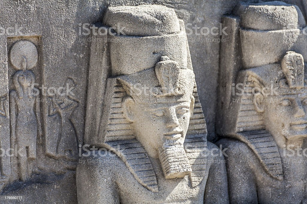 egyptian architecture royalty-free stock photo
