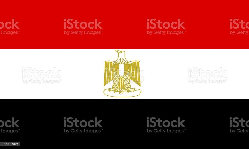 egyptian flag stock photo
