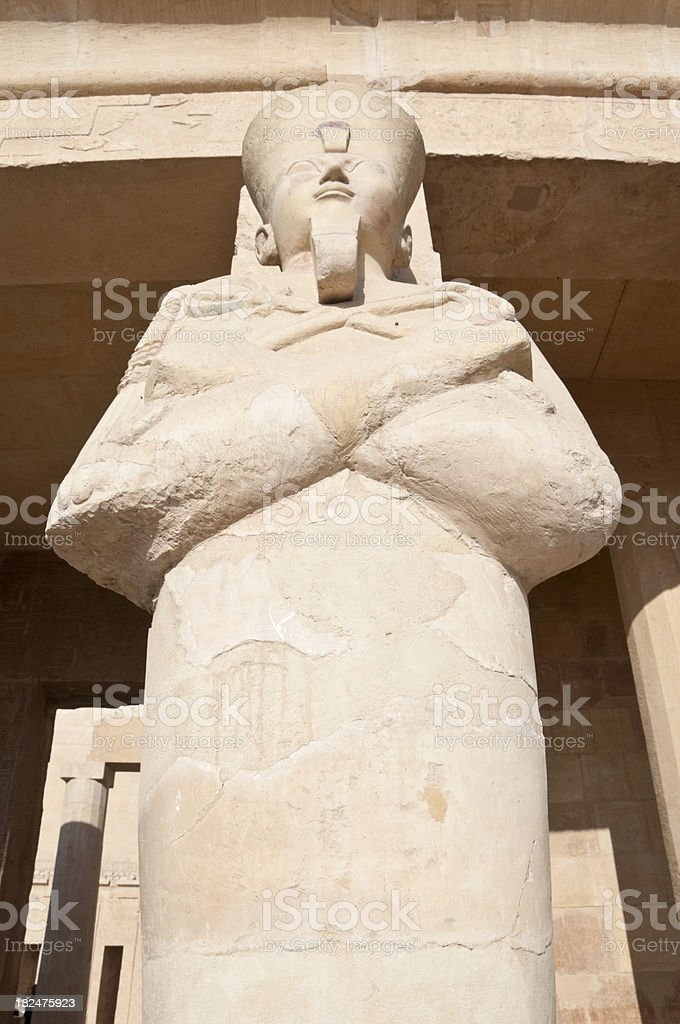 Egyptian God Osiris stock photo