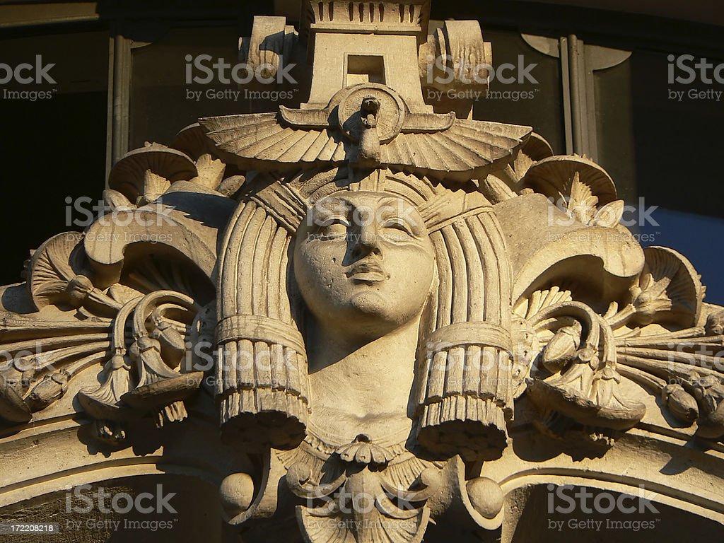 Egyptian Goddess Isis stock photo
