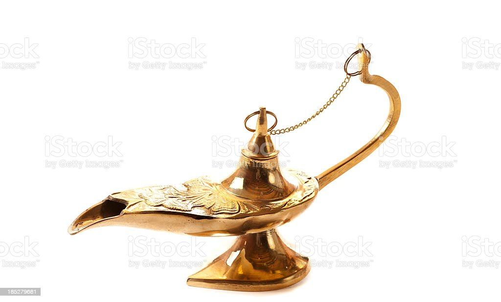 Egyptian Lamp stock photo
