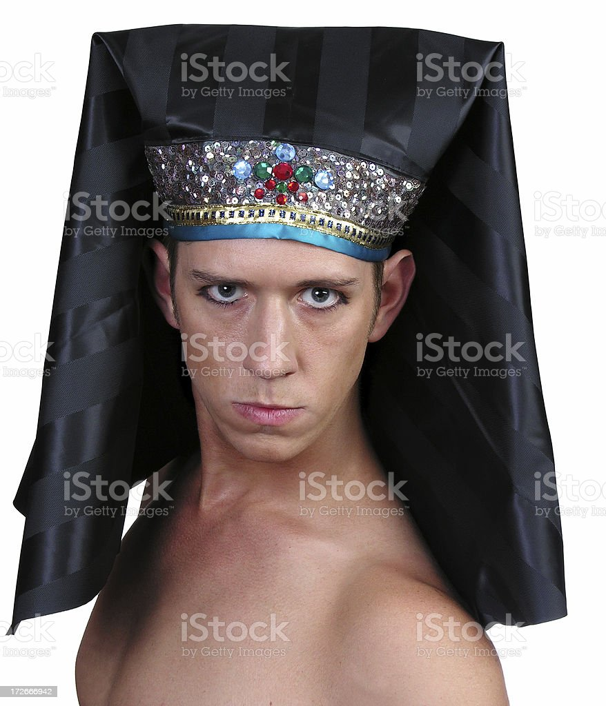 Egyptian man 1 royalty-free stock photo