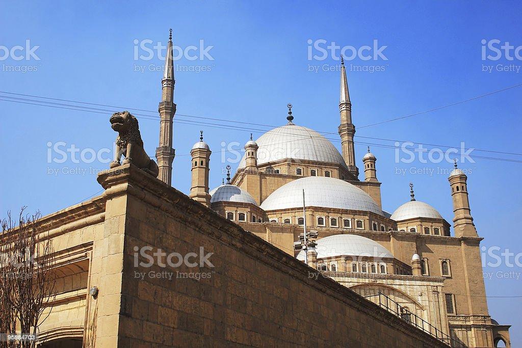 Egyptian Mosque royalty-free stock photo