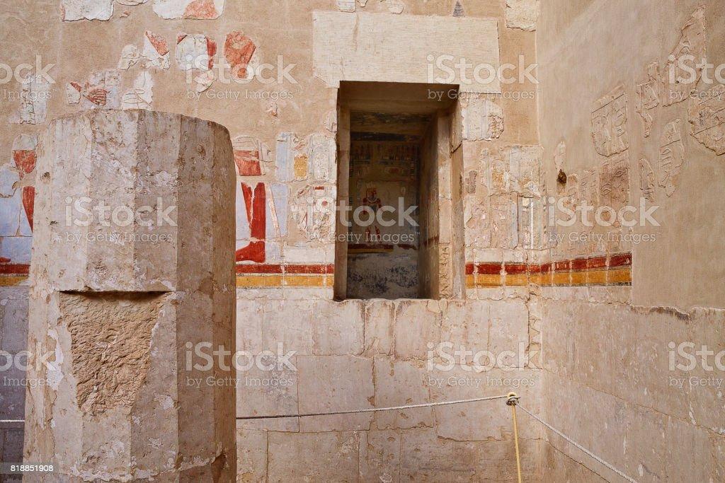 Egyptian murals stock photo