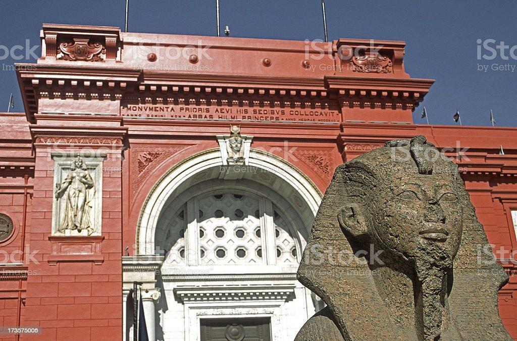 egyptian museum royalty-free stock photo