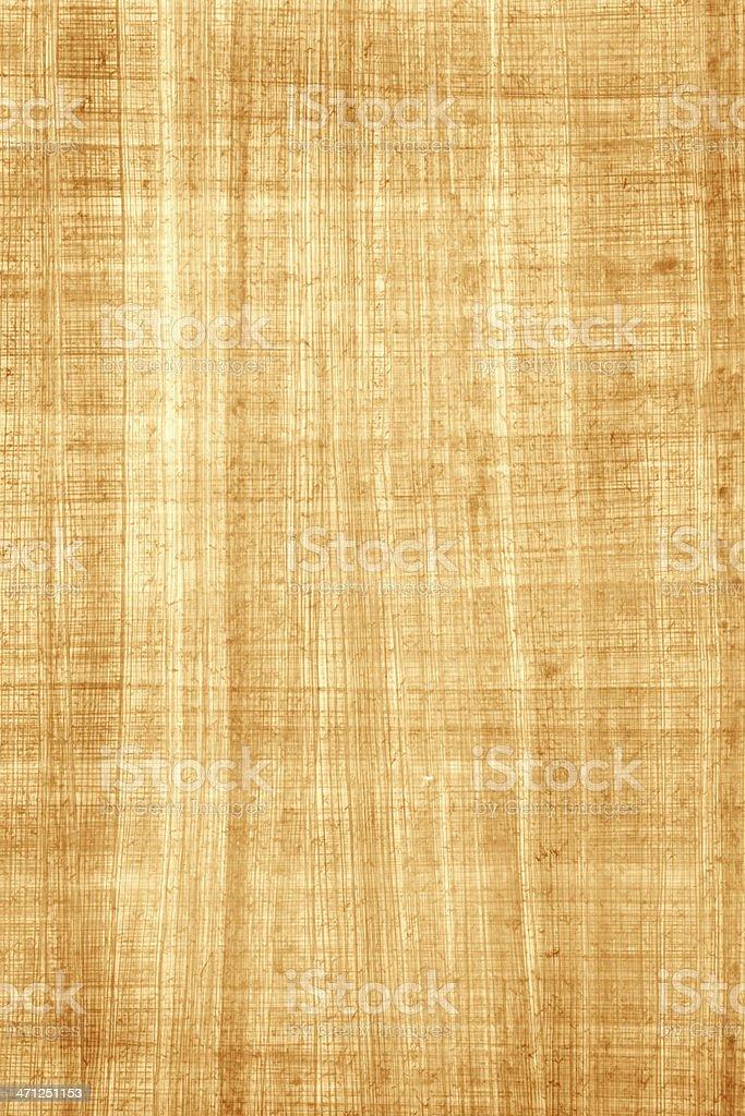 Egyptian Papyrus Paper stock photo