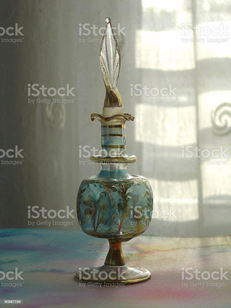 Egyptian Perfume bottle stock photo