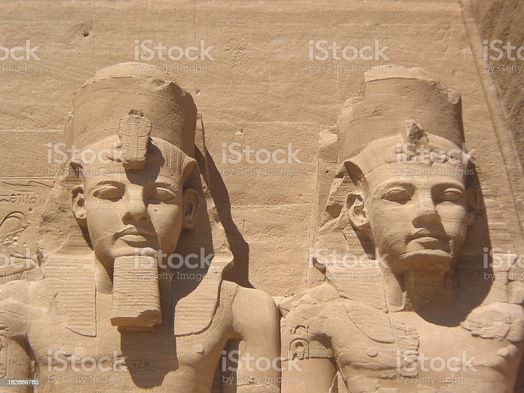 Egyptian Pharaohs - Ancient Civilizations royalty-free stock photo