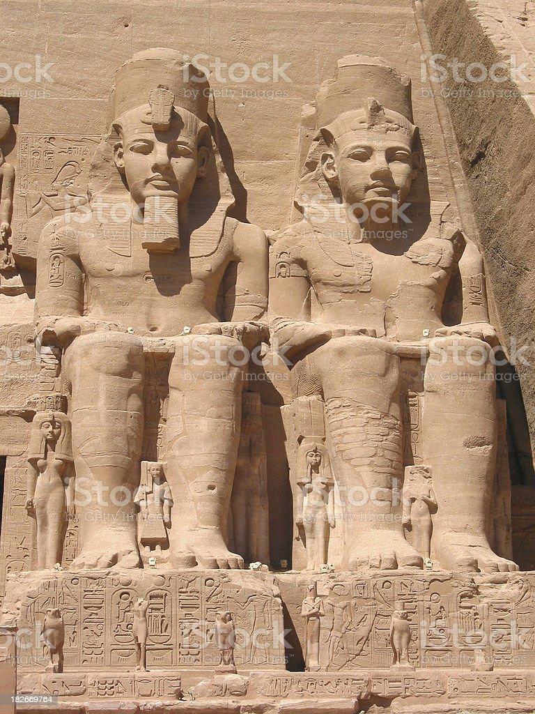 Egyptian Pharaohs - Ancient Civilizations stock photo
