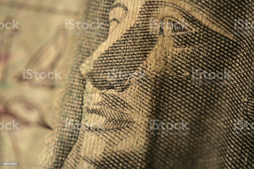Egyptian Pharoah stock photo