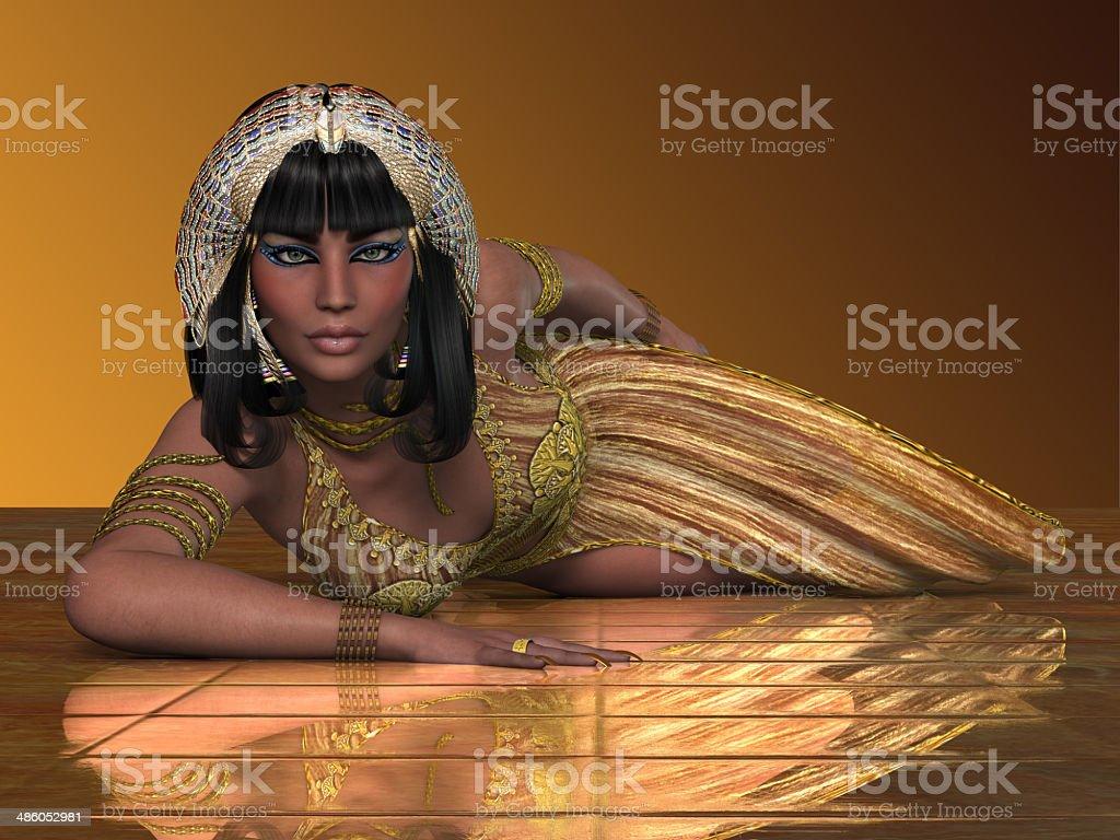 Egyptian Priestess stock photo