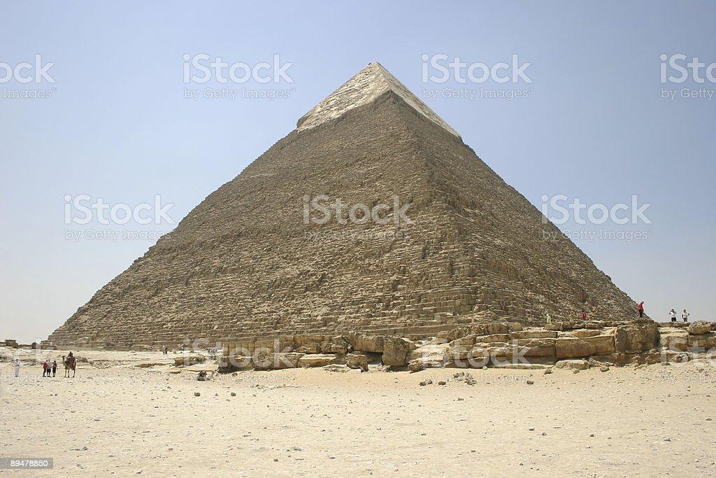 Egyptian Pyramid stock photo