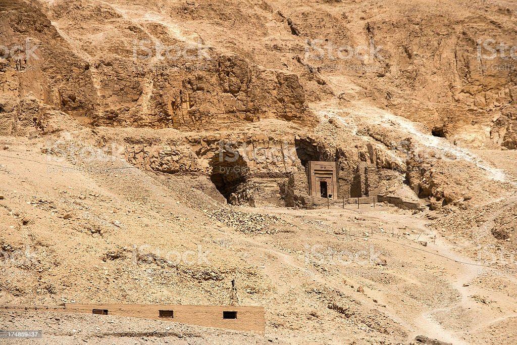 Egyptian ruins royalty-free stock photo