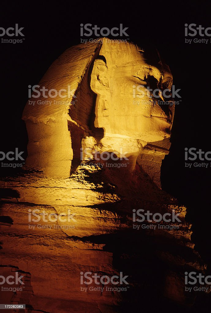 Egyptian Sphinx royalty-free stock photo
