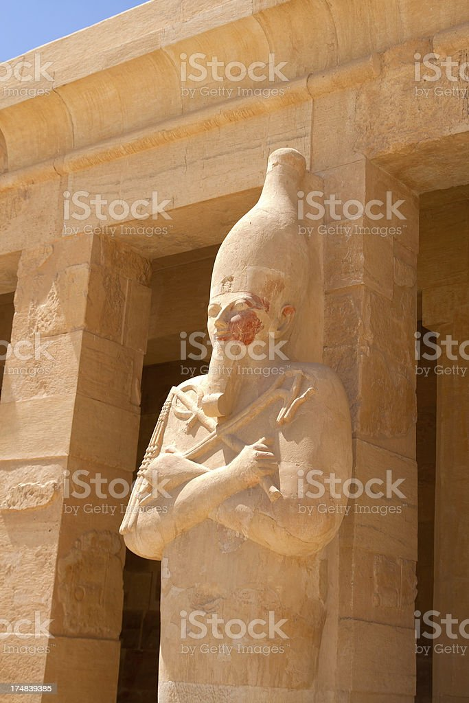 Egyptian Statue royalty-free stock photo