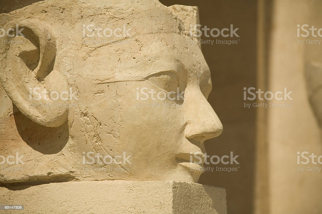 Egyptian Statue royalty-free stock photo