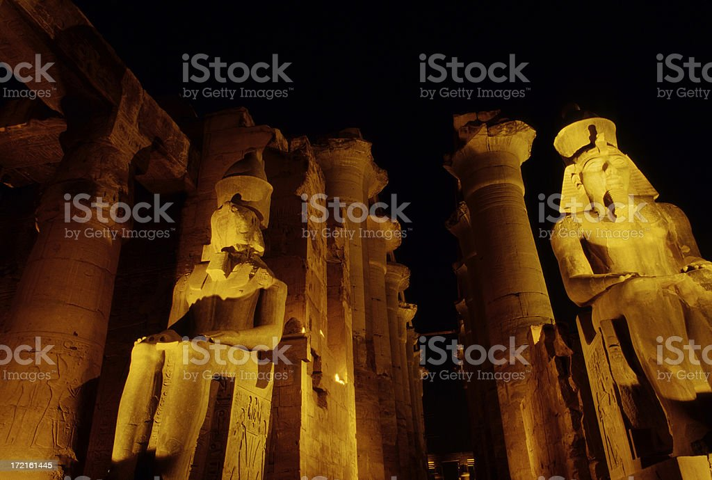 Egyptian Temple royalty-free stock photo
