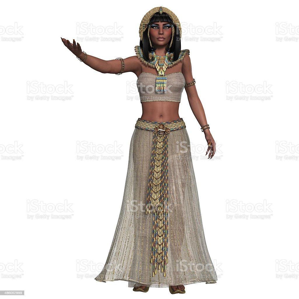 Egyptian Woman Attire stock photo