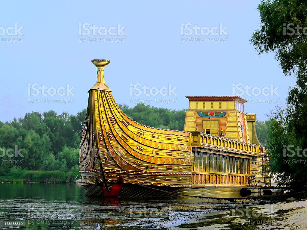 Egyptians in Europe II royalty-free stock photo