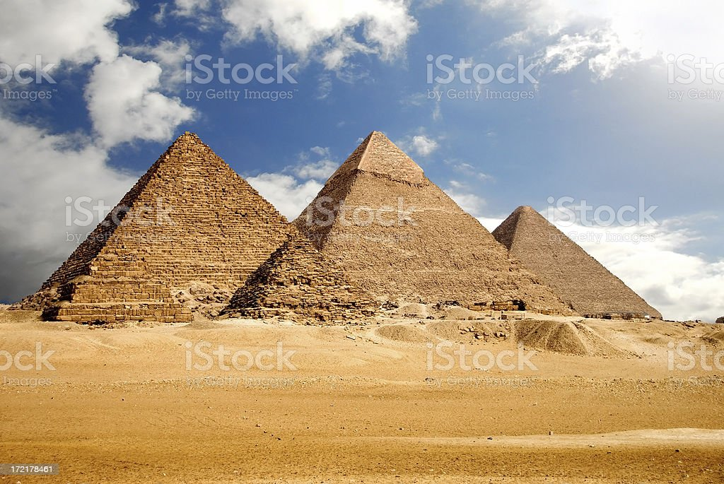 Egyptology stock photo