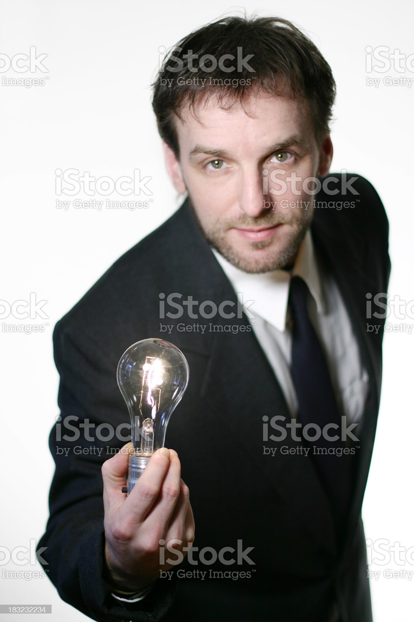 Eh... I have a brillant idea for you! royalty-free stock photo